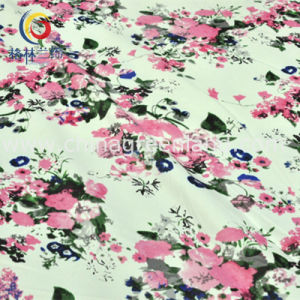 Cotton Polyester Spandex Satin Printed Fabric for Clothing Garment (GLLML196) pictures & photos