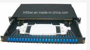 12 Port St Multi- Mode Sliding Fiber Patch Panel pictures & photos