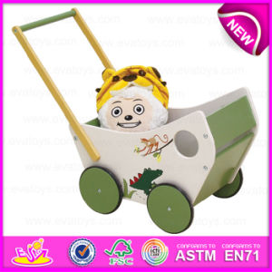 New Arrival Unique Wooden Activity Baby Walker, 1-2-3 Grow with Me Wooden Baby Walker W16e044 pictures & photos