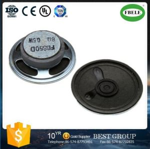 50mm 0.25W 8ohm Mylar Outdoor Speaker pictures & photos