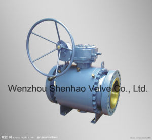 API6d 3PC Gear Box Flanged Ball Valve (Q347F)