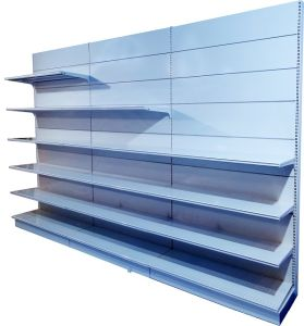 Shop Shelves / Metal Steel Supermarket Display Shelf pictures & photos