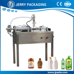 Semi-Automatic Plunger Filling Machine for Liquid and Paste pictures & photos