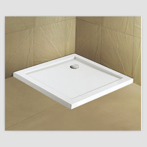 Flat Shower Tray, Acrylic Low Shower Base pictures & photos