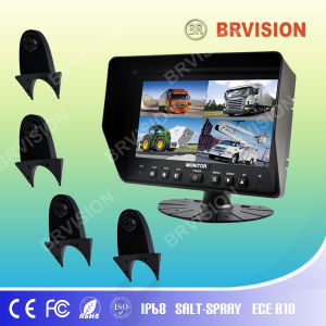 7 Inch Rear View System with Waterproof IP69k Shark Mount Rearview Camera for Truck pictures & photos