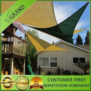Waterproof Sun Shade Sail/Polyester Shade Sail/HDPE Sail Sun Shade Factory pictures & photos