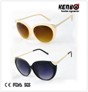 New Design Fashion Sunglasses with New Design Fashion Sunglasses with Metametal Hand of Femples CE, FDA, Kp50367 pictures & photos