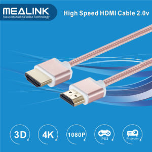 180 Degree Rotation High Speed HDMI Cable (support 4K, HDMI 2.0) pictures & photos