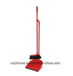 Plastic Sweeper Set Dustpan Set with Broom (3803) pictures & photos