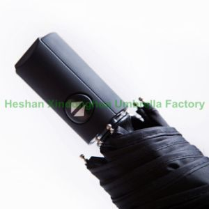 Automatic Advertising 3 Fold Umbrella with Gift Box (FU-3821ZFAB) pictures & photos