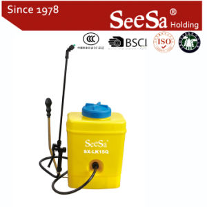 15L Agricultural Manual Air Pressure Back Pack Sprayer (SX-Lk15Q) pictures & photos