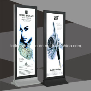 LED Light Box with Legs Free Standing The Floor pictures & photos