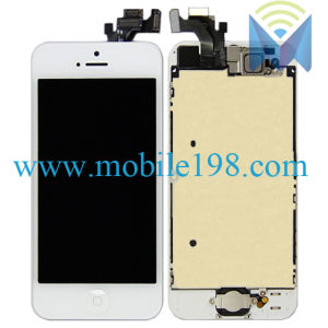 Mobile Phone LCD for iPhone 5 with Touch Screen with Frame pictures & photos