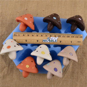 Nk0004 8 Cavity Mushroom Chocolate Candy Mold