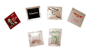 Single Pack Cleaning Wet Wipes pictures & photos