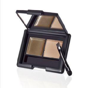 2 Color Eyebrow Kit with Brush Eyebrow Gel Makeup