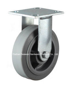 Caster Heavy Duty Rigid TPR Caster pictures & photos
