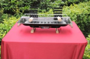 Popular Charcoal Barbecue Grill with BBQ Net pictures & photos
