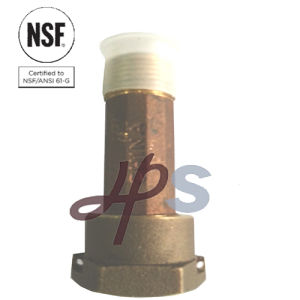 NSF-61 Approved Free Lead Brass Water Meter Tailpiece of Awwa Standard pictures & photos