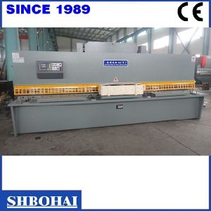 China Bohai Bransd Swing Beam Shearing Machine Model 16mm X 2500mm pictures & photos