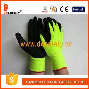 Ddsafety 2017 13 Gauge Fluorescent High Visible Yellow Acrylic Glove with Full Liner pictures & photos