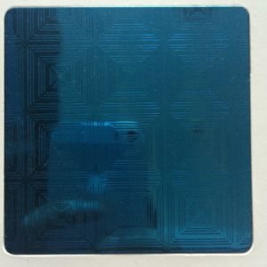 304 Blue Colour Etched Stainless Steel Sheet pictures & photos