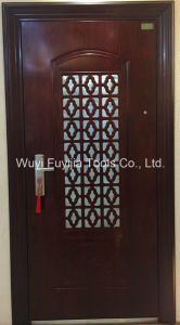 Steel Doors & Metal Doors &a Door Within a Door (FYJ-8899)