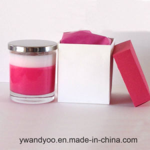 Scented Soy Glass Candle for Birthday Party with Gift Box