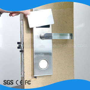Hotel Lock Management System Hotel Card Handle Lock pictures & photos