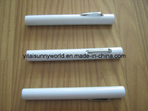 Disposable Plastic Penlight with 2PCS AAA Battery (SW-PL08) pictures & photos