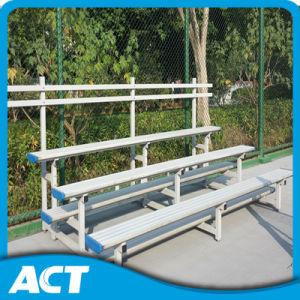 3 Rows Aluminum Bench for Stadium Bleacher pictures & photos