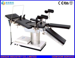 China Radiolucent Hospital Equipment Ot Use Electric Operating Room Table pictures & photos
