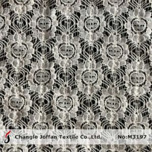 Geometric Cotton Crochet Lace Fabric (M3197) pictures & photos