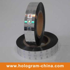3D Laser Security Hologram Hot Stamping Foil pictures & photos