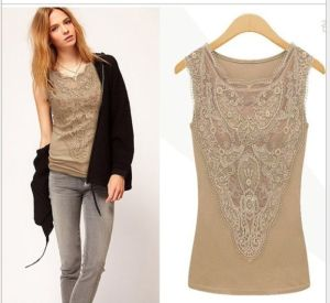 Lace Top Women Summer Fashion Tank Top