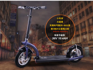 36V Lithium Portable Folding Aluminium Electric Scooter