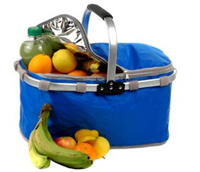 Aluminum Handle Picnic Bag Aluminum Handle Cooler Bag pictures & photos