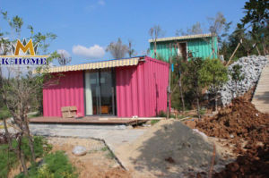 Beautiful Prefab Shipping Container Home with Best Price pictures & photos