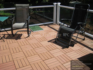 DIY WPC Outdoor Decking Floor Tile for Balcony pictures & photos