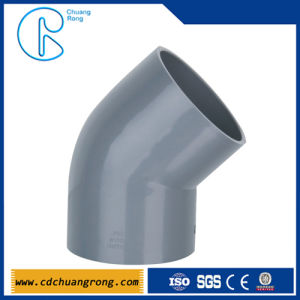400mm PVC Fittings Online 45 Degree Elbow pictures & photos