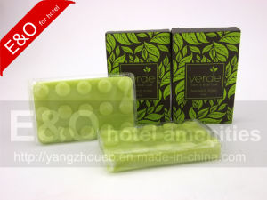 OEM Natural Plant Massage Handmade Grass Fragrance Soap pictures & photos