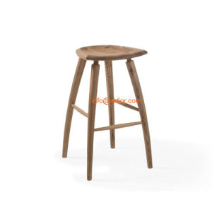 (SD-8401) Modern Hotel Restaurant Club Furniture Wooden High Barstool Chair pictures & photos