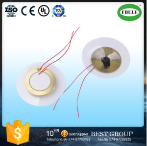 Fbpd56A Free Sample Piezo Diaphragm Ceramic Element with Wire (FBELE) pictures & photos