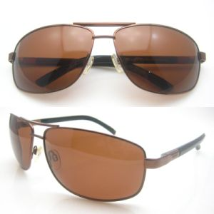 Hot Seller Classic Design Metal Sun Glasses for Man pictures & photos