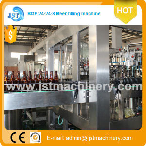 Automatic Glass Bottle White Wine Filling Production Machine pictures & photos