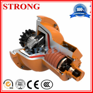Construction Hoist Elevator Safety Devices, Top Quality Construction Lifting Worm Gear Reducer Gearbox pictures & photos