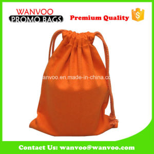 Accept OEM/ODM Drawstring Canvas Cotton Bag pictures & photos