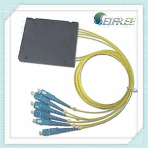 FTTH Fiber Optical PLC Splitter 2*4 with 2mm Pigtail (B2) pictures & photos