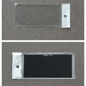 105*50mm Clear and Black Welding Glass with CE pictures & photos