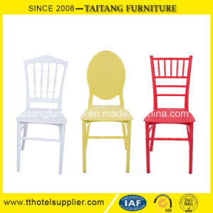 Colorful Resin Tiffany Chair Napoleon Chair Round Back Chair pictures & photos